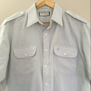 VTG Butter Soft Lightweight Short Sleeve Epaulette